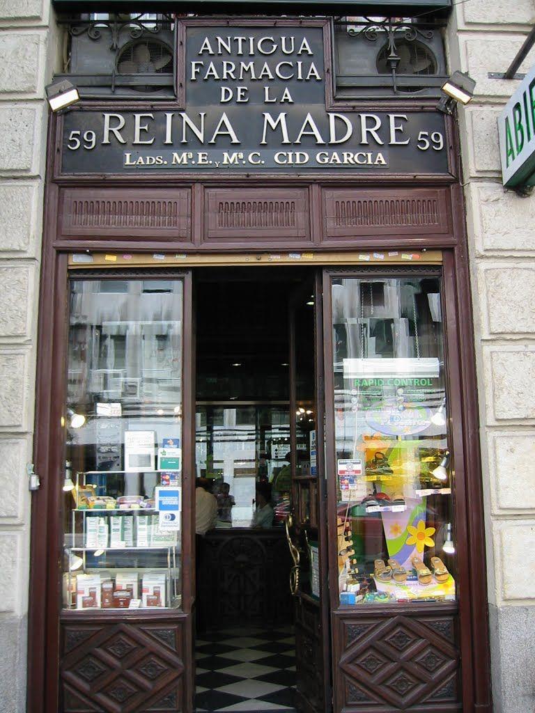 Real Botica de la reina Madre, ubicada en la calle Mayor, 59. Madrid ...