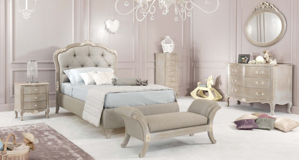 Charmant Set For Childrenu0027s Bedroom Textiles And Carvings Vienna Baby, Tosconova   Luxury  Furniture