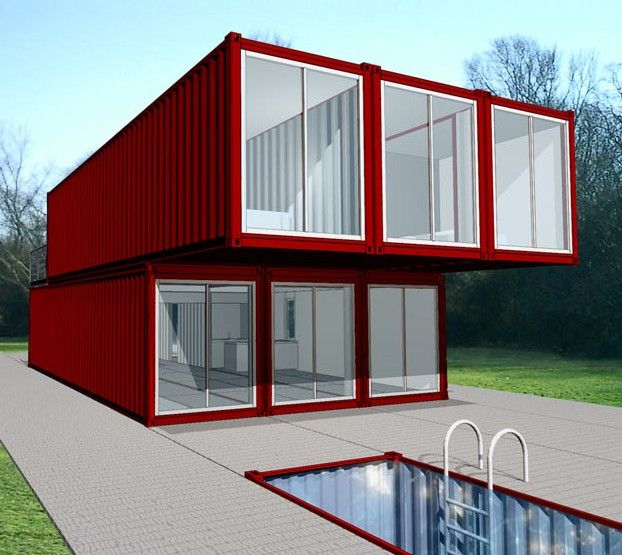 Maison container maisons en container maison blog for Container maison legislation