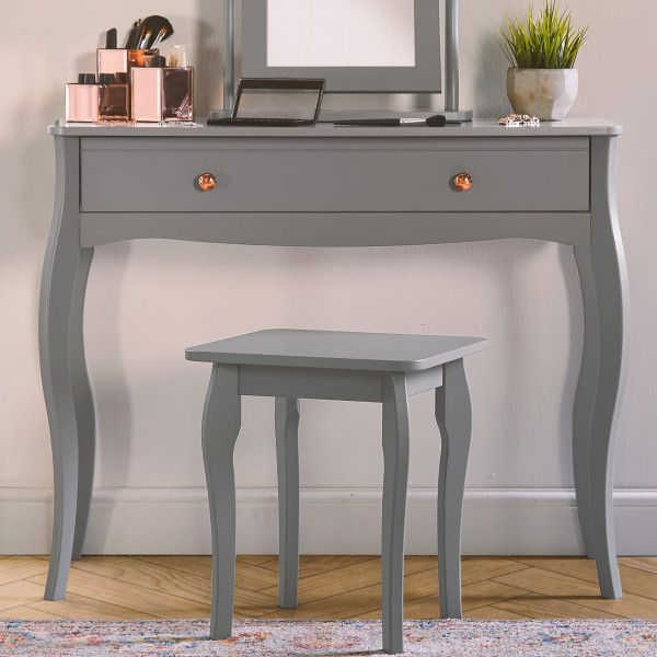 promo code a79f2 0cad0 Beautify Grey Dressing Table Scandi Style Furniture ...