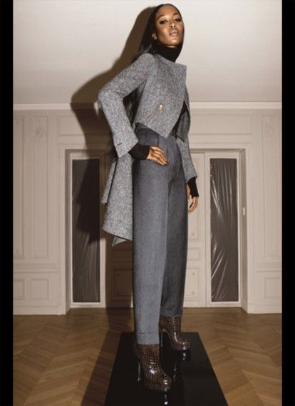 Yves Saint Laurent Fall-Winter 2008 . 2009 Ad Campaign - Naomi Campbell  1952622f4e4