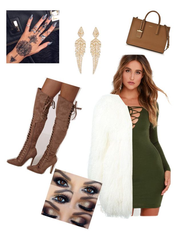 """""""Untitled #40"""" by fashionlover397 ❤ liked on Polyvore featuring LULUS, Philipp Plein, Stephen Webster and DKNY"""