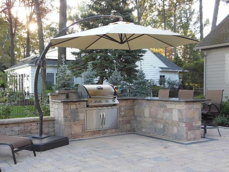 built in grill ideas Bing images Outdoor grill