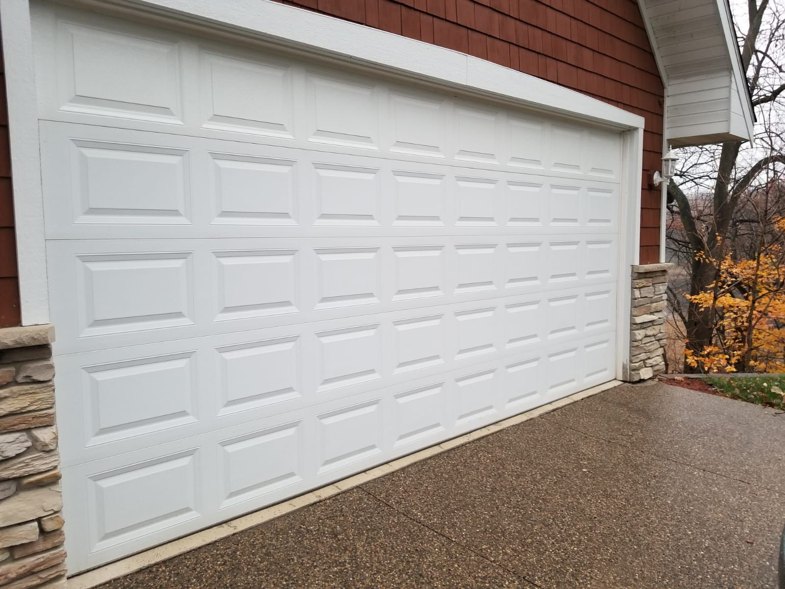 Damage To Your Garage Door Can Happen Any Time We Are Available For Fast Same Day Service Call 612 400 8848 Or Visit Our Web Garage Doors Garage Door Repair Garage Door Installation