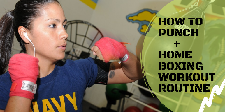 Your Home Workout Resource To Get Fit Strong Tone Home Boxing Workout Daily Exercise Routines Workout