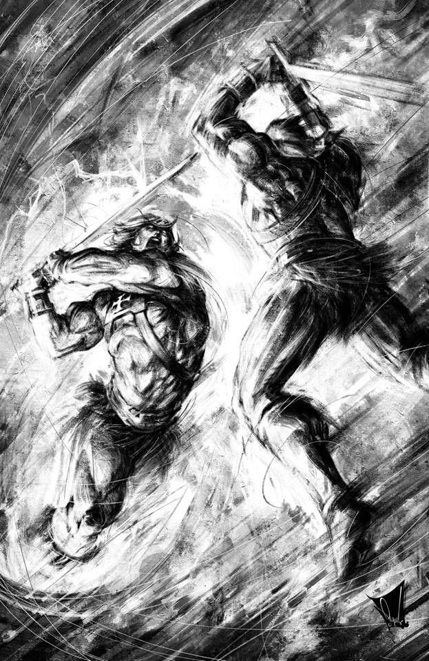 ArtStation Heman vs Skeletor, Reyad Yousri Badass