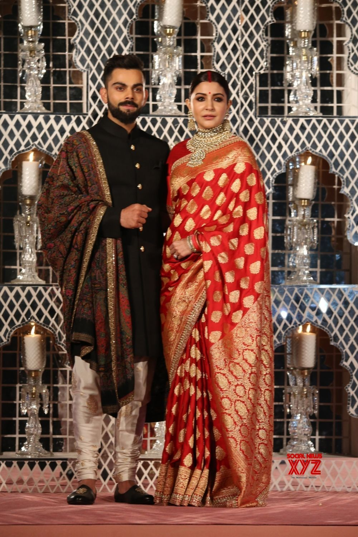 New Delhi: Virat Anushka wedding reception | Indian bridal ...