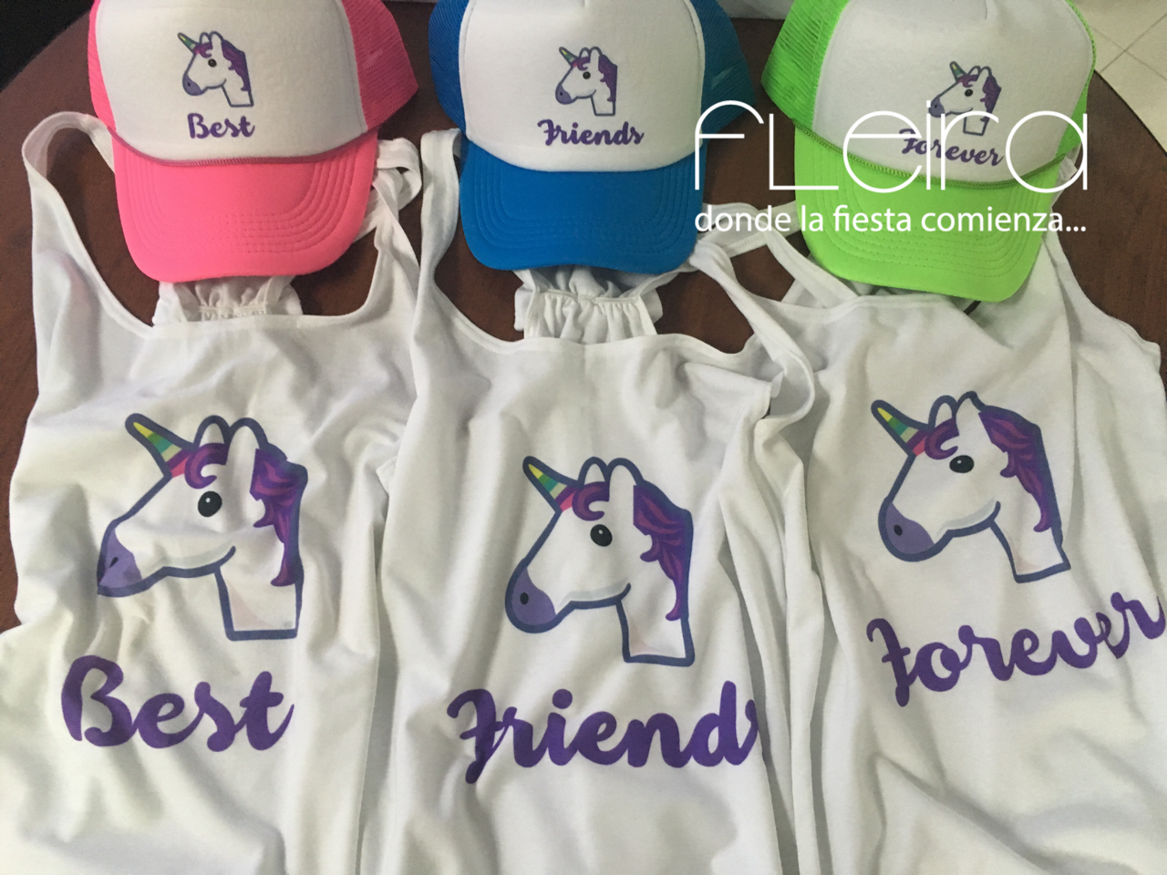 custom  Tshirts  personalizado  Unicorn  Unicornios  BFF  Best  Friends   Forever  TruckerHats  Emoji b752a9009b69e