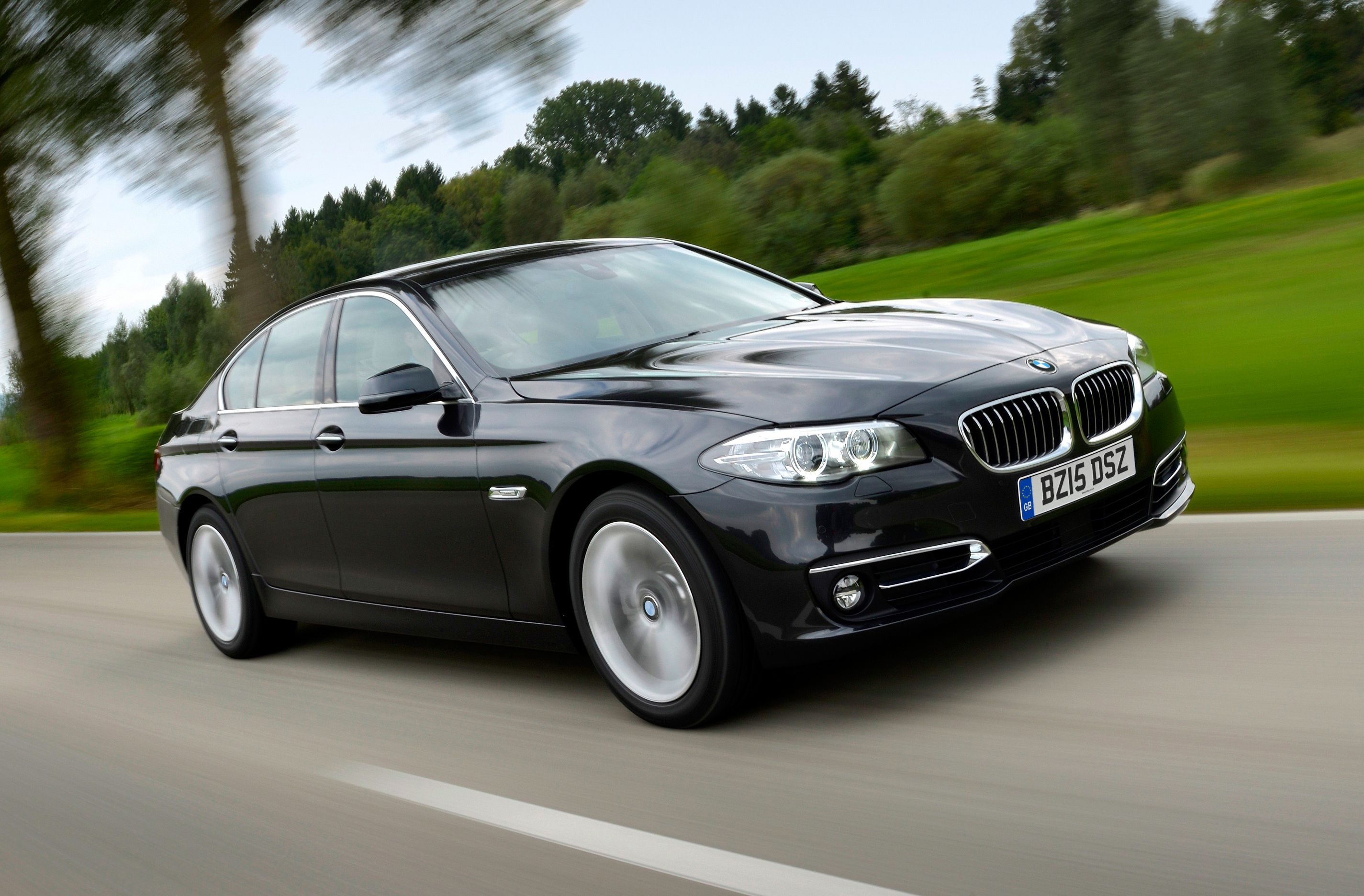 Most Popular Large Premium Car: BMW 5 Series