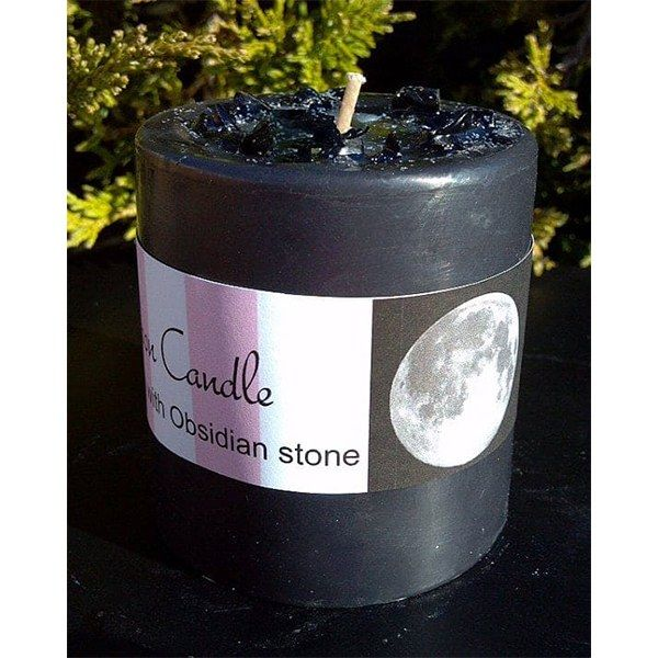 Buy New Moon Candle #newmoonritual