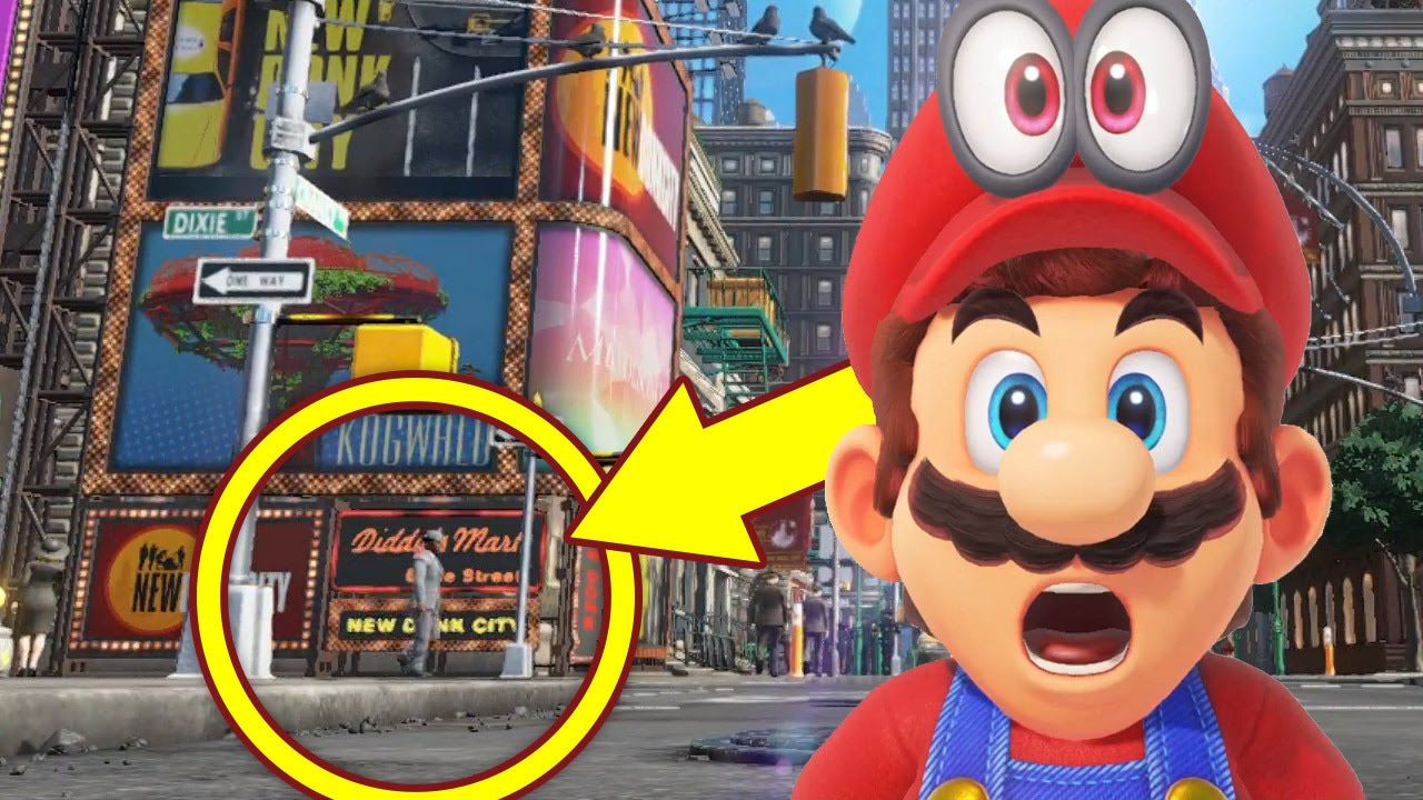 Super Mario Odyssey Easter Eggs Secrets And Gameplay