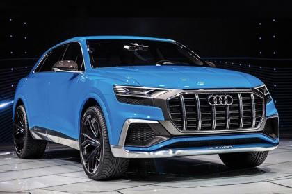 New 2018 Audi Q8 Revealed In Detroit Specs And Pics Car Design