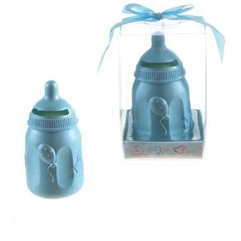 Cheap Baby Shower Favors · Baby Bottle Coin Bank Poly Resin   Blue. Also  Comes In Pink! Bulk Wholesale