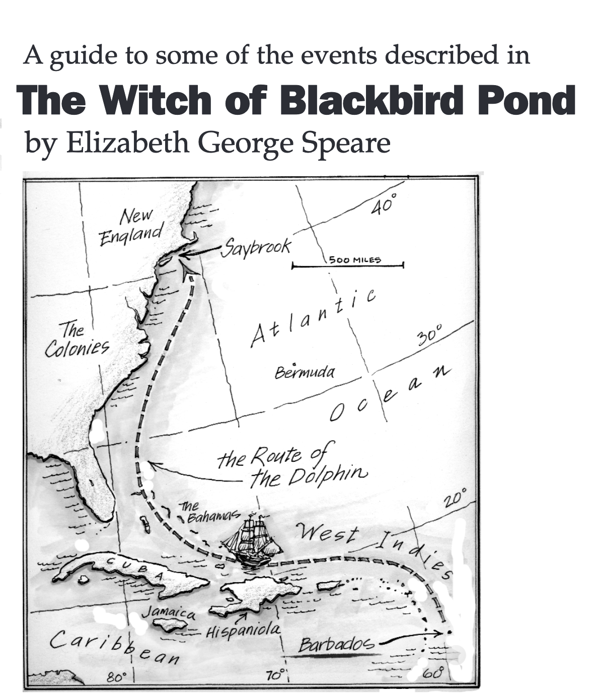 Pin On The Witch Of Blackbird Pond