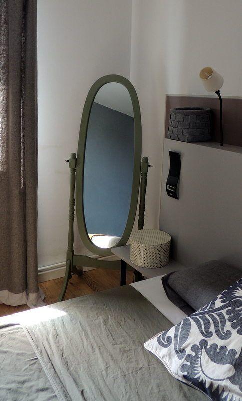 Miroir Sur Pieds D Coration Vintage R Tro Scandinave