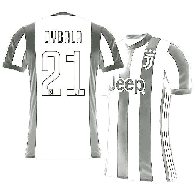 6a9b7c3a7 Cheap Juventus Jersey Shirt 17-18 paulo dybala Home Top