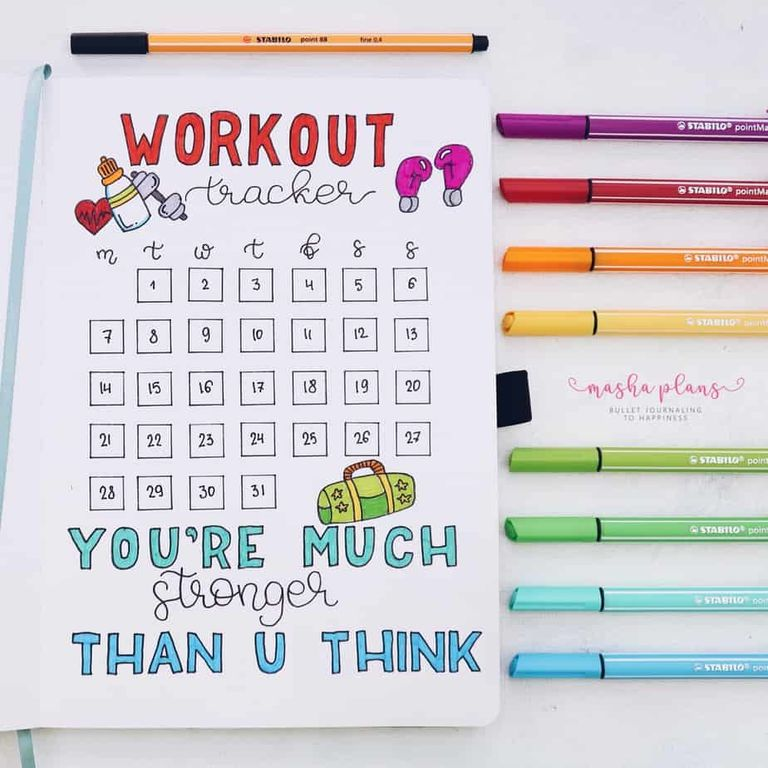 14 Fun Ways We're Personalizing Our Bullet Journals This Year