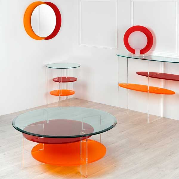 Ensemble ARA design by Olivier Toulouse console table basse
