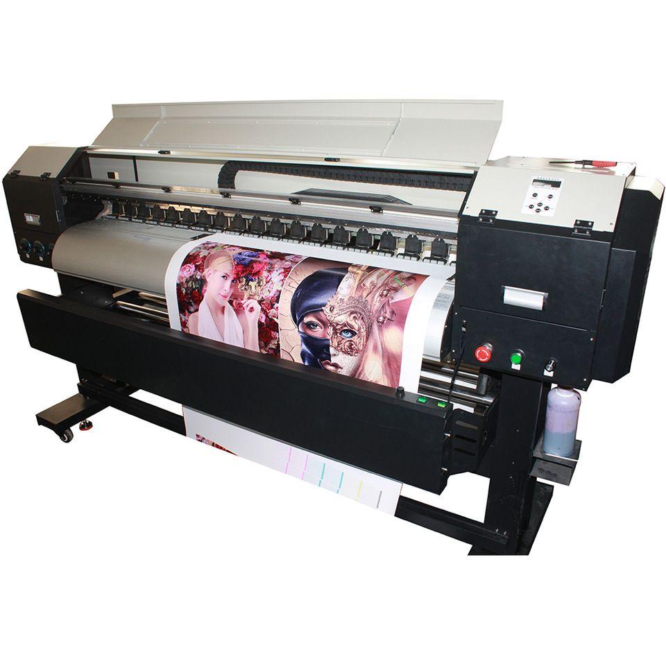 1 9m high resolution 2880dpi small smart eco solvent car vinyl sticker wrap printing machine