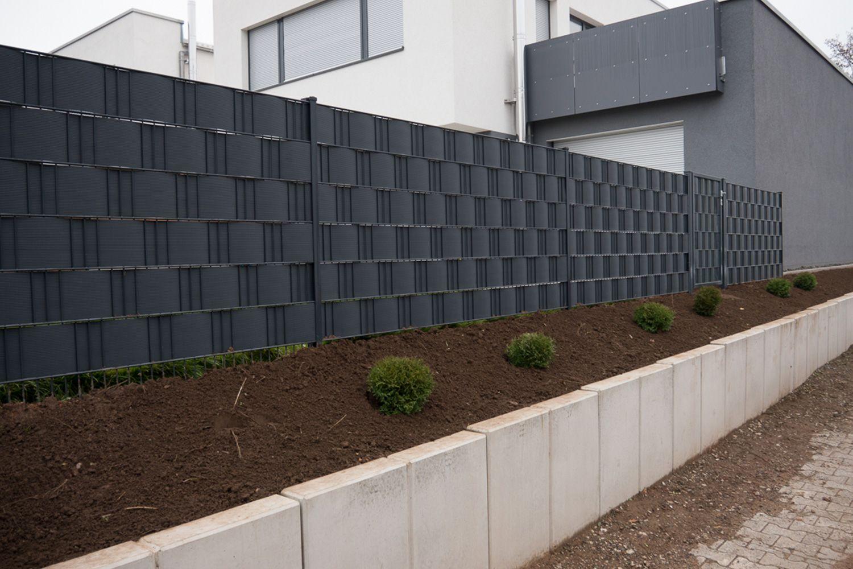 Sichtschutz Draht Hemmer Sichtschutzzaun Garten Moderne