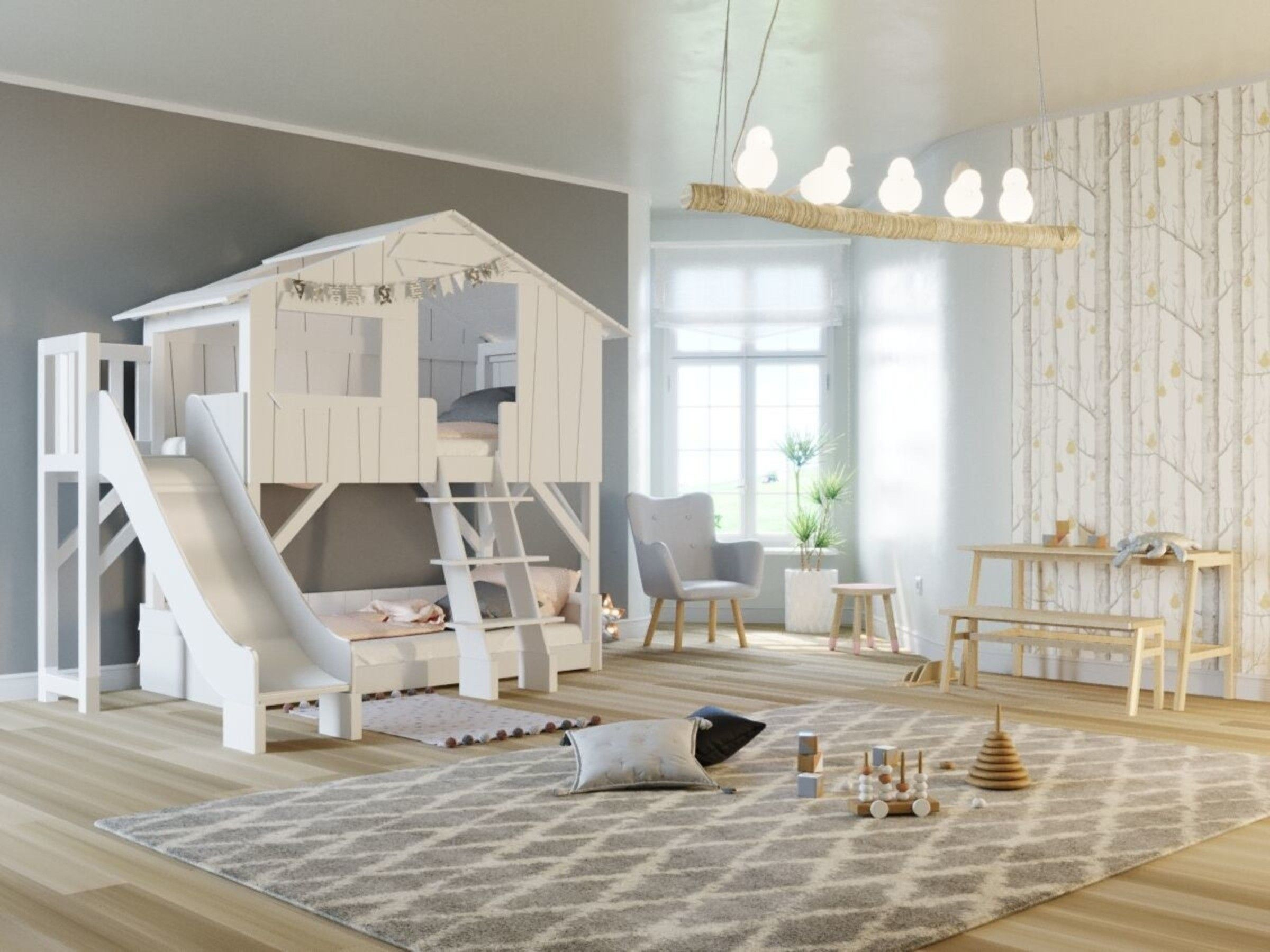 Best Discover The Playful Slide That You Can Attach To The Famous Tree House Treehouse Homedecor 400 x 300