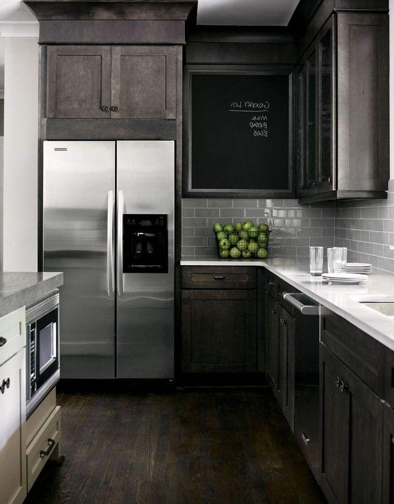 42 marvelous kitchen backsplash decor ideas kitchen cabinet design backsplash with dark on kitchen ideas with dark cabinets id=19499