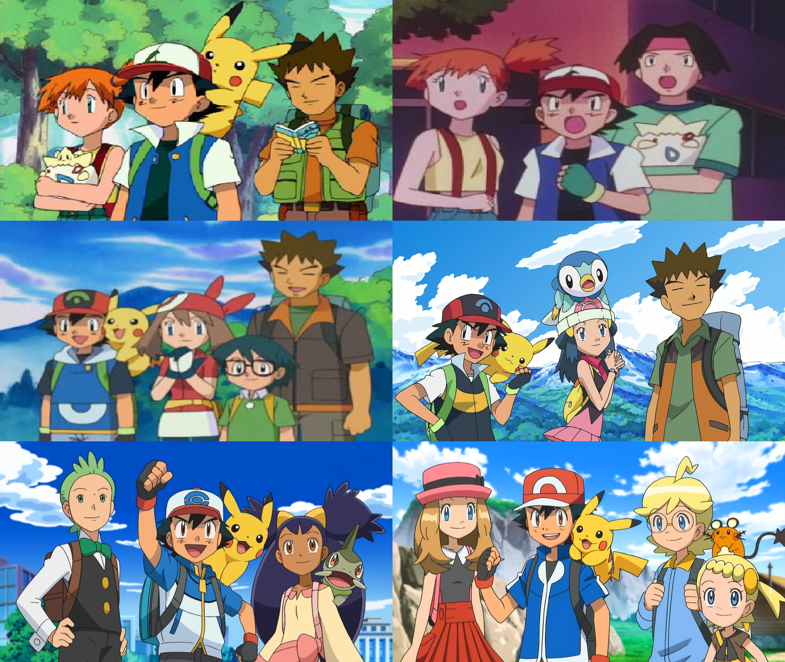 ash and serena google search pokemon pinterest ash