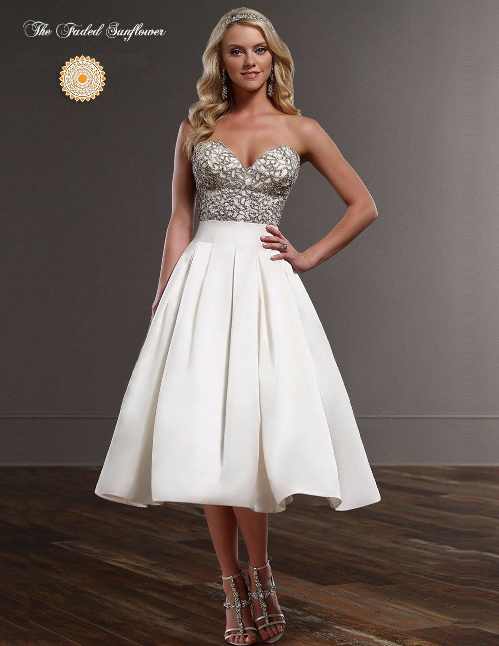 Vintage retro style beaded wedding dress u available up to size w