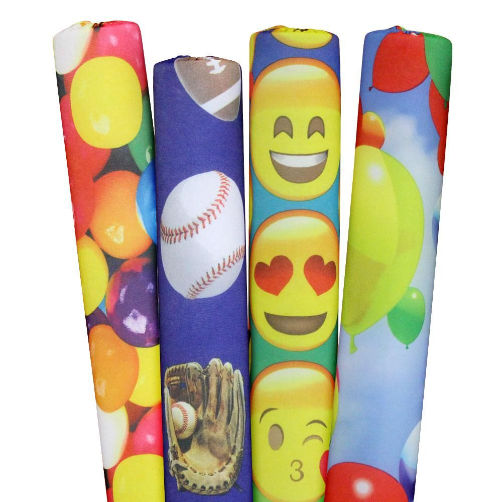 Designer Noodles Sports Emojis Gumballs And Balloons Pool Noodles 4 Pack 02 14 01 06 The Home Depot Swimming Pool Noodles Pool Noodles Swim Noodles