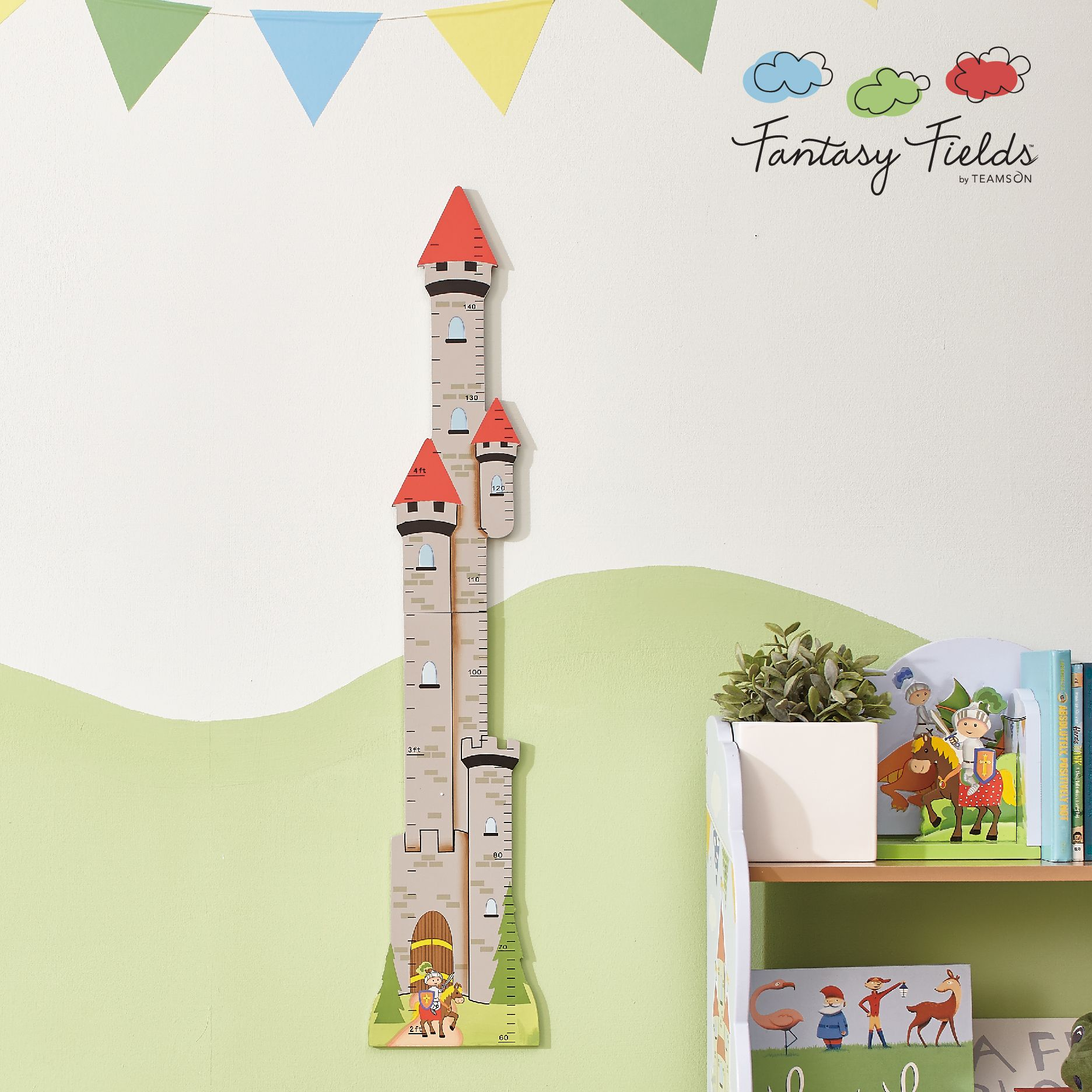 Fantasy Fields Knights and Dragon Growth Chart | Kids Bedroom Ideas ...