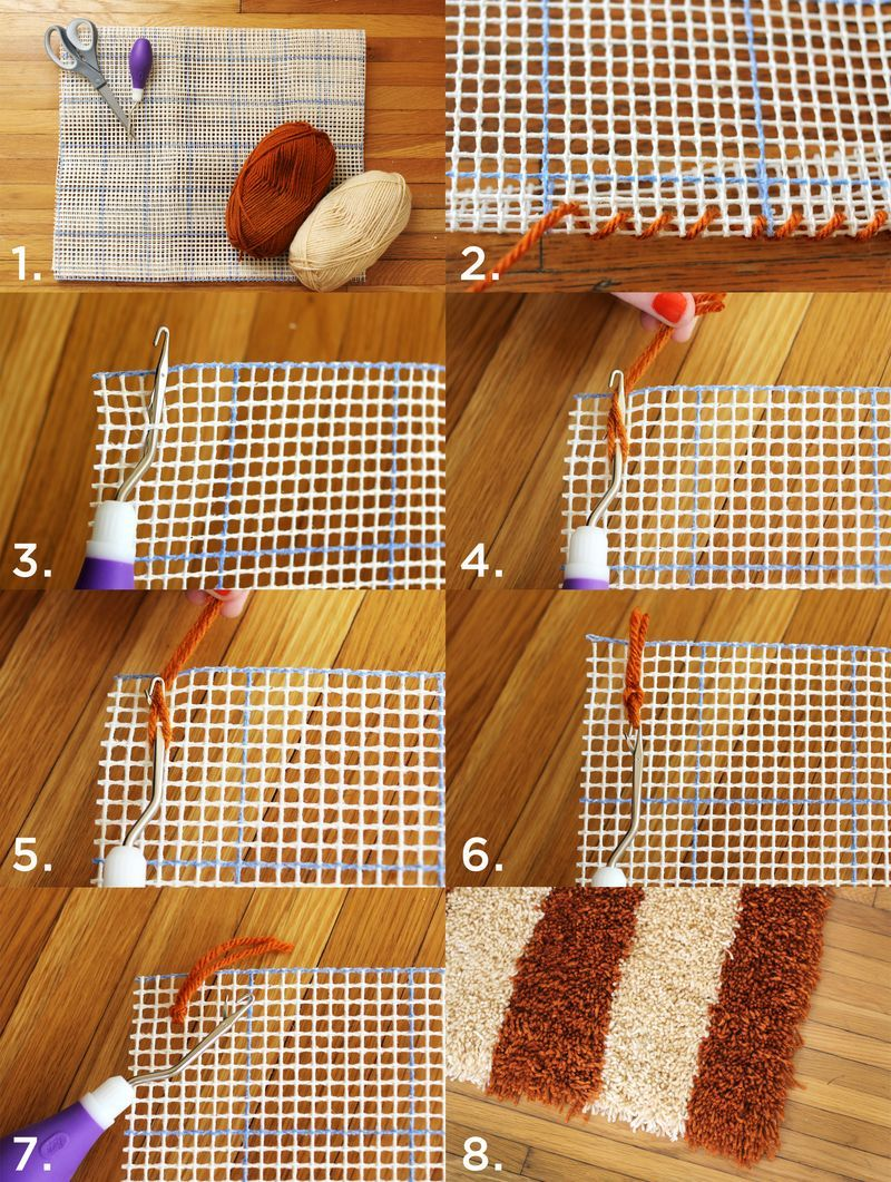 Diy Latch Hook Rug Latch Hook Rugs Diy Carpet Rug Hooking