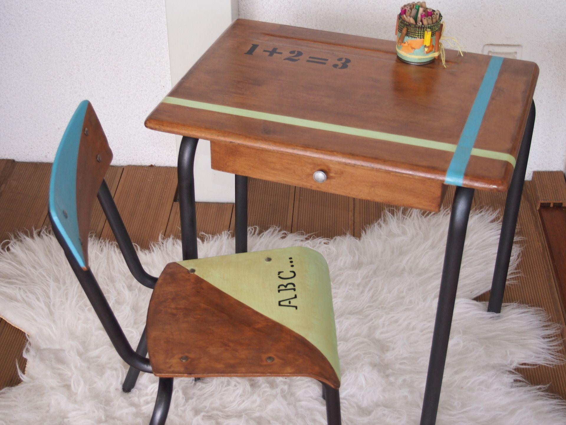Bureau et sa chaise pour enfant de à ans meubles et