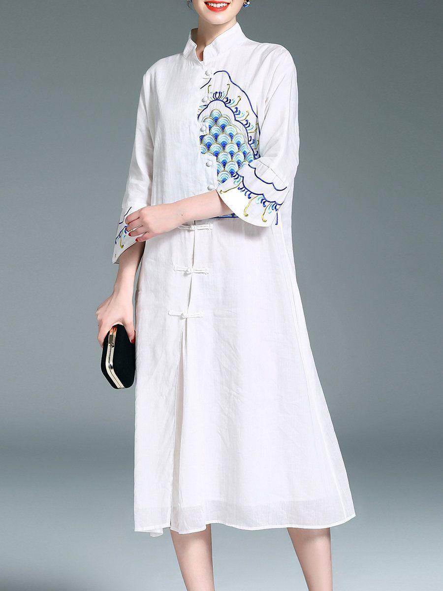 Adorewe stylewe designer midi dresses designer qeexi vintage