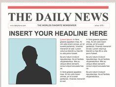 sample newspaper articles - anuvrat.info