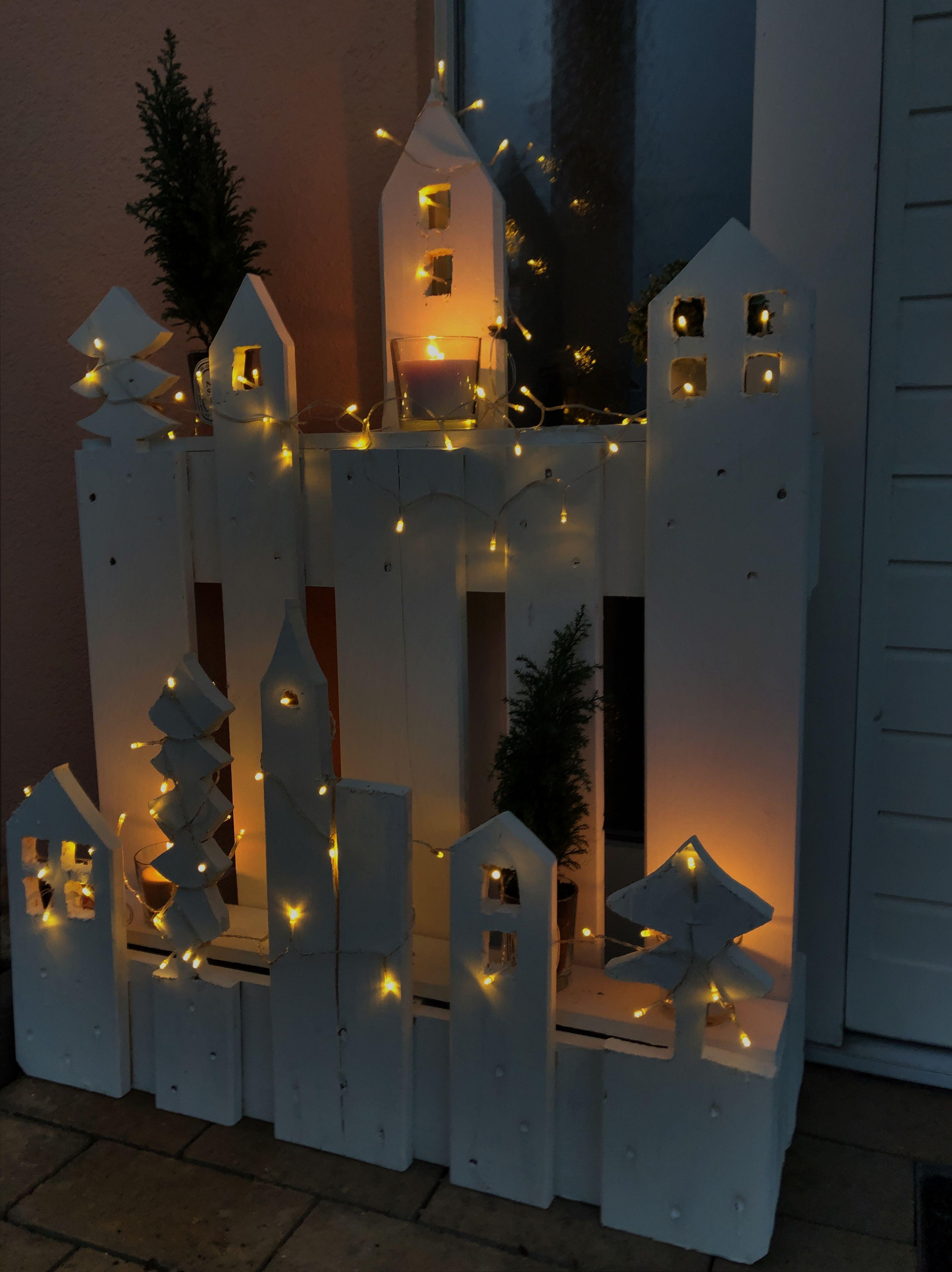 Pin Von Diane Vega Auf X Mas Paletten Deko Weihnachten