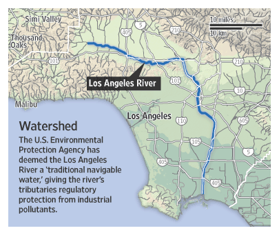 Los Angeles Map LA Map Pinterest Los Angeles Angeles And Rivers - Los angeles river map