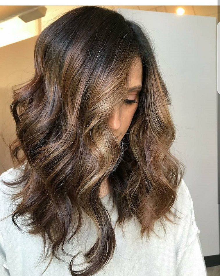 Balayage Rich Brunette Hair Color Gorgeous Balayage Solft