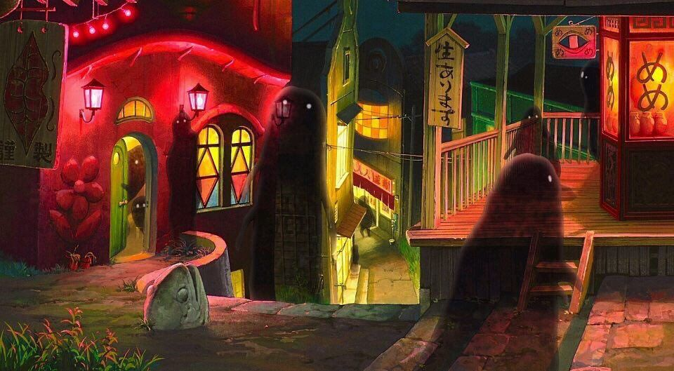 Anime Visuals On Twitter In 2020 Spirited Away Wallpaper Studio Ghibli Spirited Away Studio Ghibli