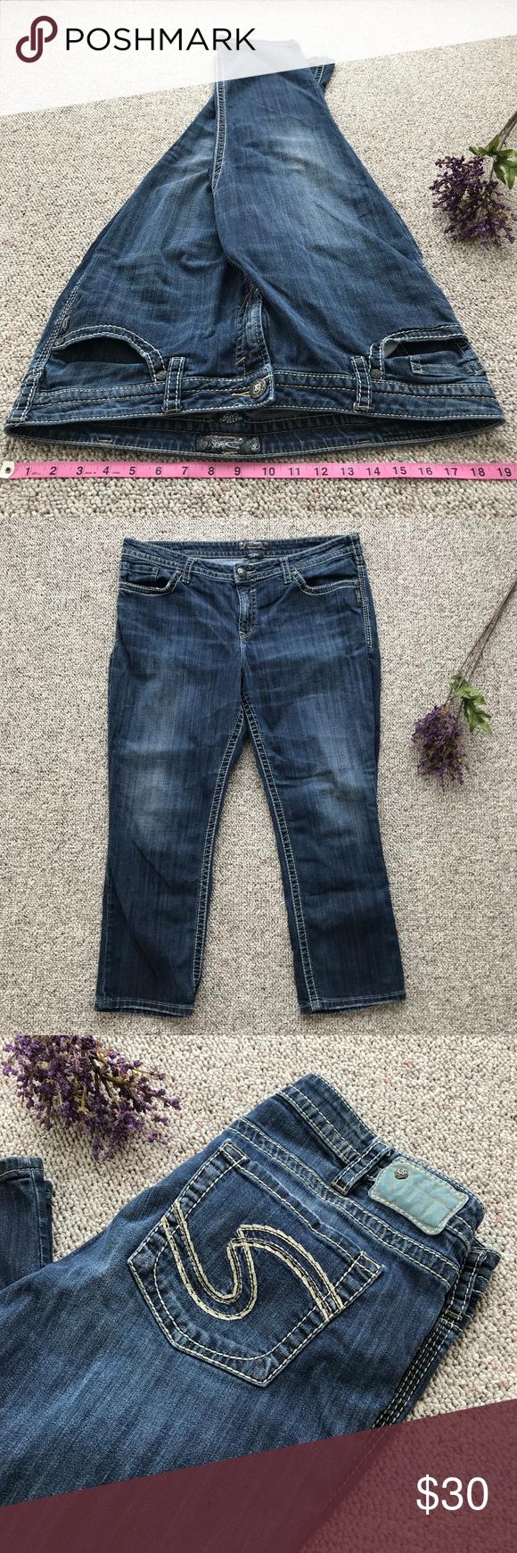 cecd6bde Silver Natsuki High Rise Jeans Size 20 Preowned, excellent condition Silver Natsuki  High Rise Capri