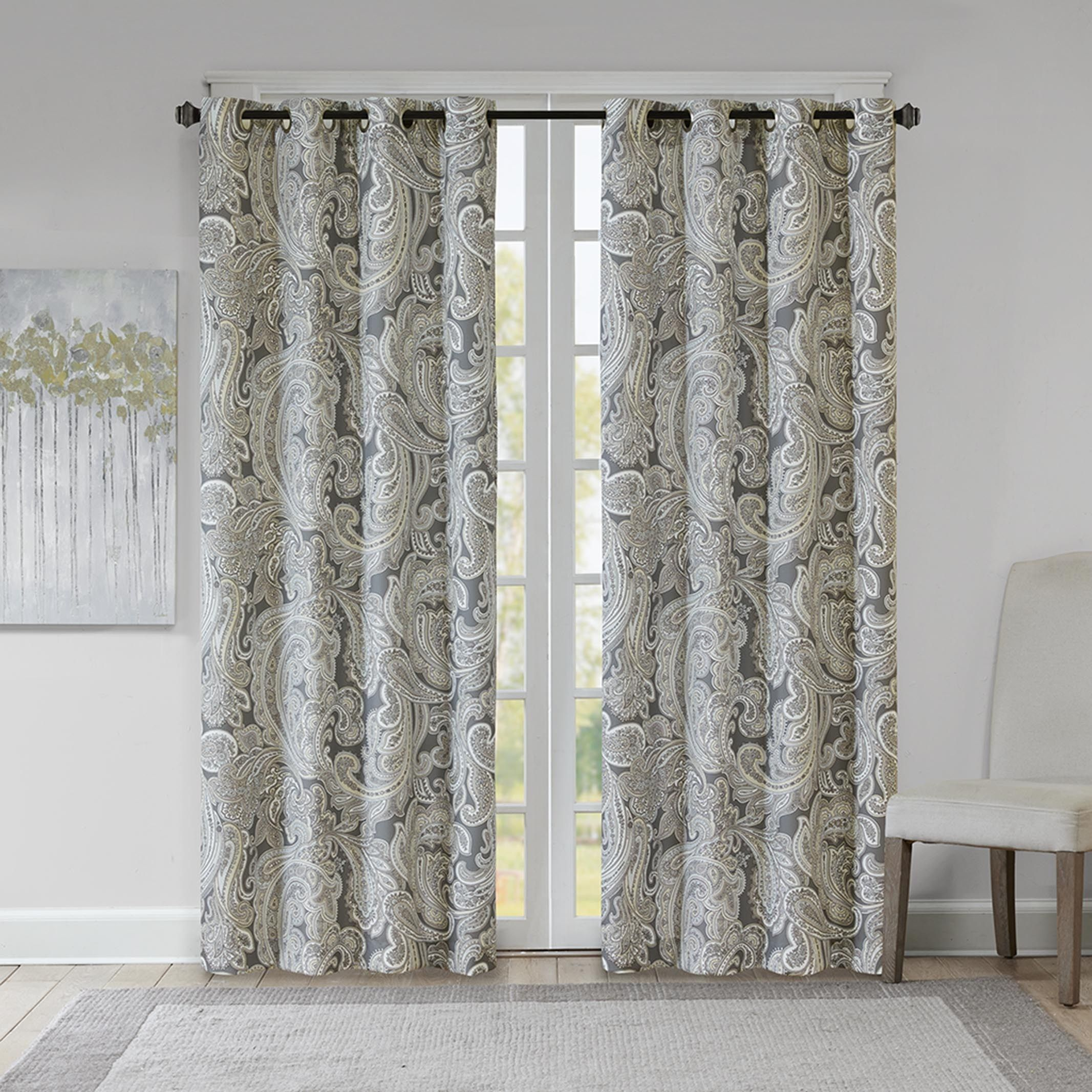 photos gallery digest curtains trend decorate how with paisley to curtain architectural