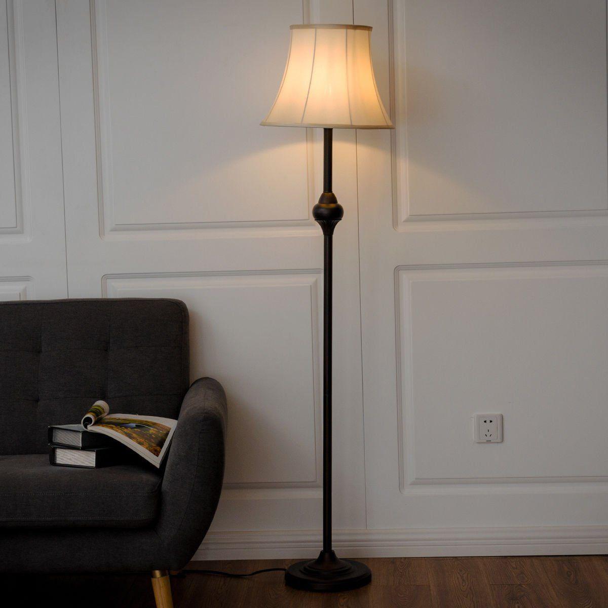 Safstar Bronze Modern Floor Lamp Light Lighting W One Led Bulb For Living Room Bedroom Bedroom Lamp Sets Living Room Floor Lamp Lighting Modern Bedroom Decor