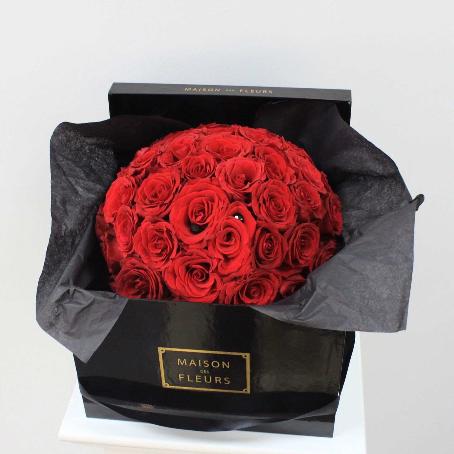 Buy flowers for delivery rose ball ♥ maison des fleurs ♥