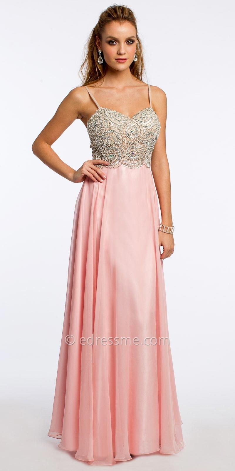 Beaded Kaleidoscope Evening Dress By Camille La Vie | Prom ...