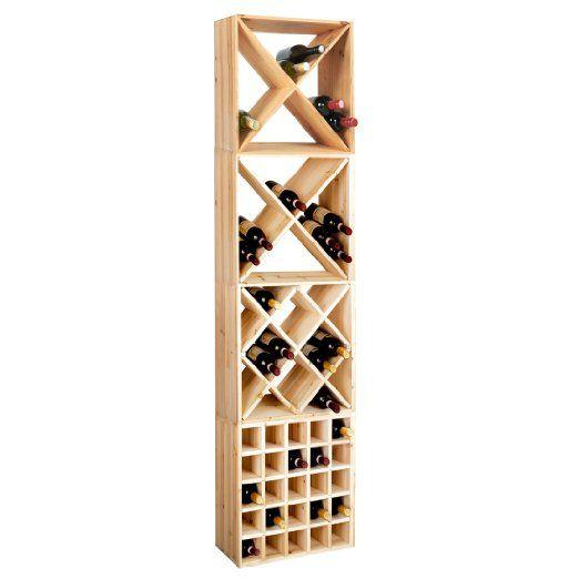 Fabriquer casier vin bac bouteille empilable en plastique for Fabriquer un porte bouteille en bois