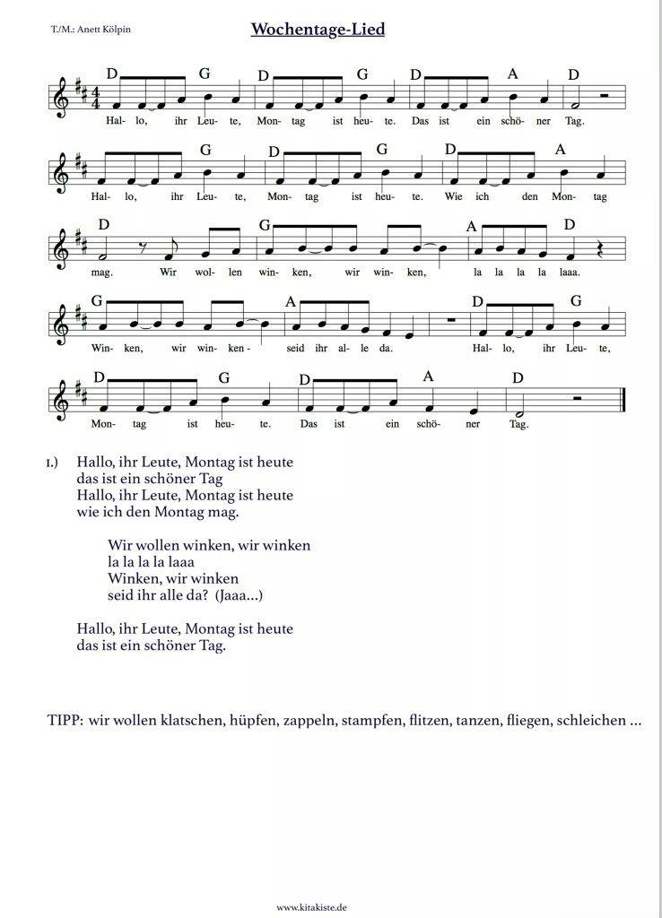 Lieder Lieder Begrüßungslieder Kindergarten Lieder Und