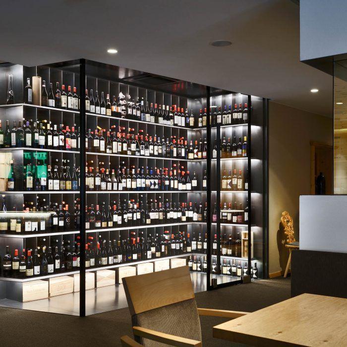 Weinschrank, cantina frigo, wine cabinet at VALSERHOF | Weinschrank ...
