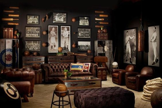 Man Caves Book : Man cave has a completely different meaning in breeder