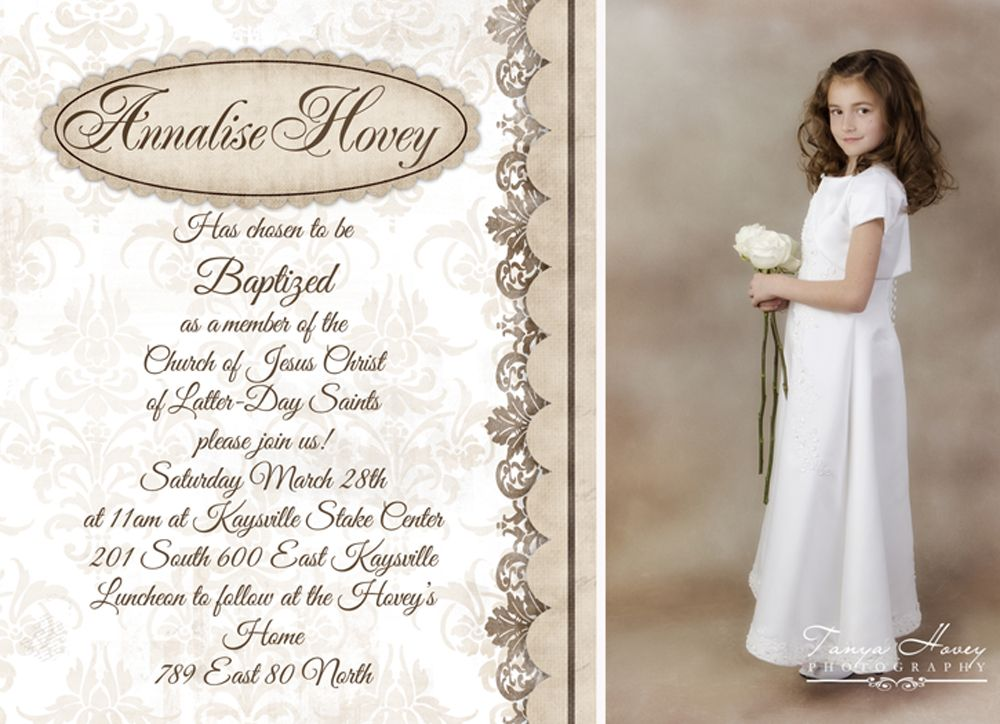 Tanya Hovey Photography in Kaysville, UT | LDS Baptism Photos ...