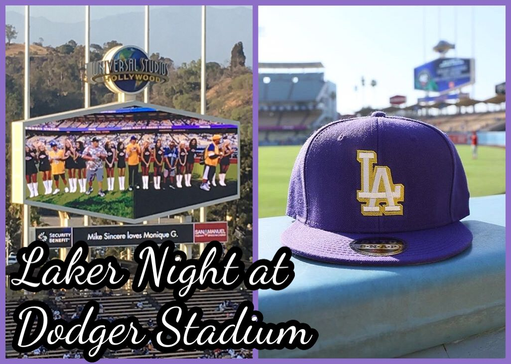 b4e3560916d Laker Night at Dodger Stadium