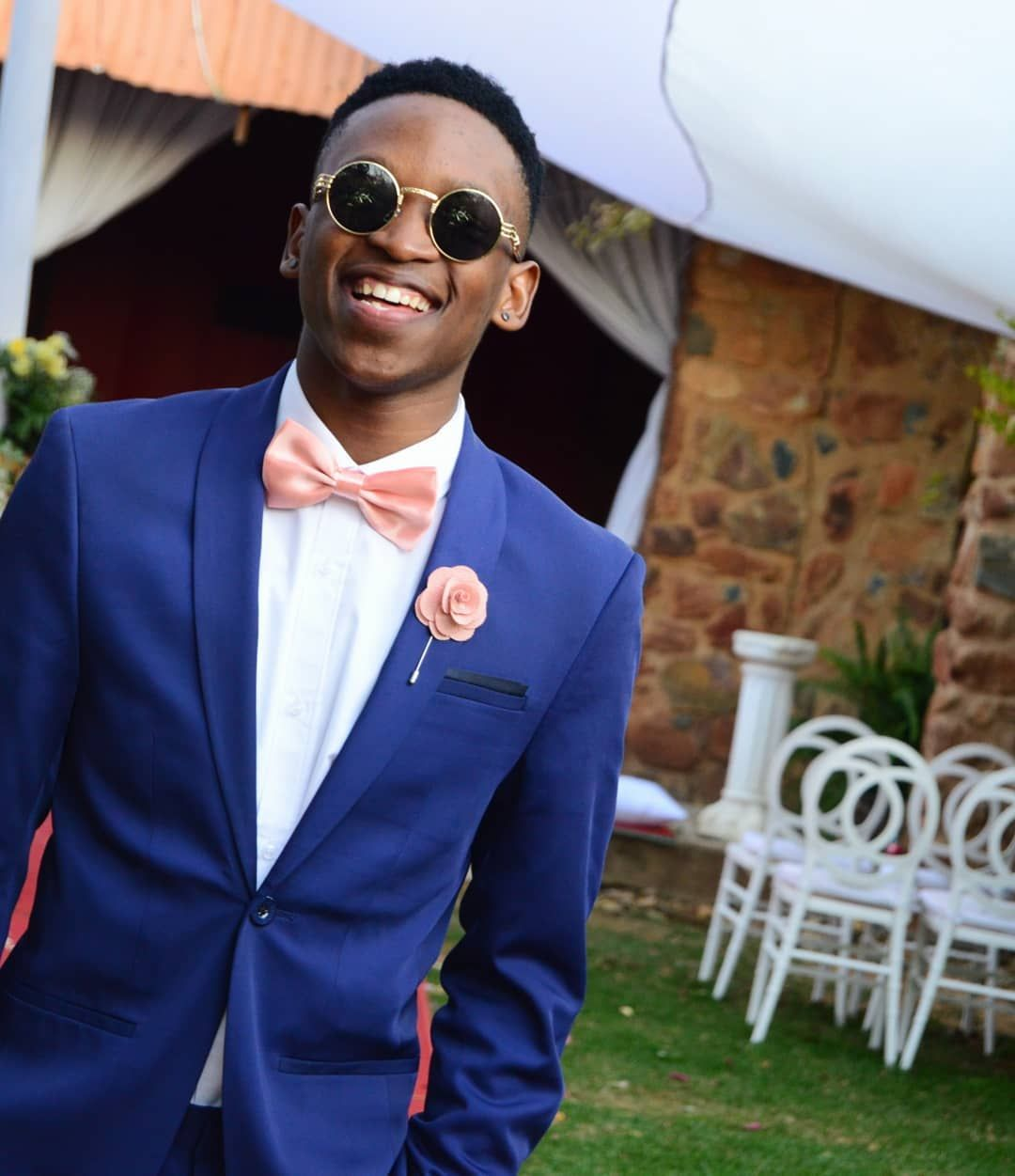 A Beautiful Day African Boy The Canvas Co Suited Groomsman Wedding Dancing Dancer Dance Navy Blue Suit Men Wedding Outfit Men Blue Tuxedos